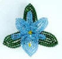Swarovski Orchid Pin