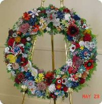 Pentagon Wreath